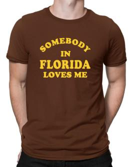 Somebody Florida Men T-Shirt
