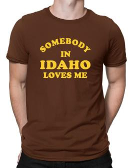 Somebody Idaho Men T-Shirt
