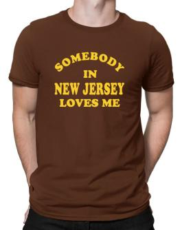 Somebody New Jersey Men T-Shirt