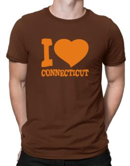 I Love Connecticut Men T-Shirt