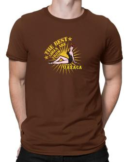 The best girls are from Oaxaca - pinup Men T-Shirt