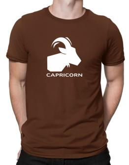 Capricorn Astral Silhouette Men T-Shirt