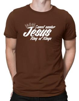 Sweet savior Jesus king of Kings Men T-Shirt