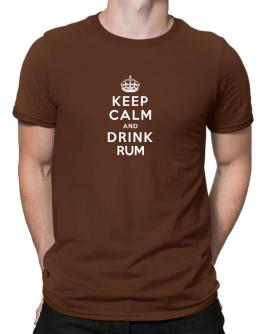 Keep calm and drink Rum Men T-Shirt