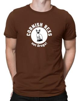 Cornish Rexs not drugs! Men T-Shirt