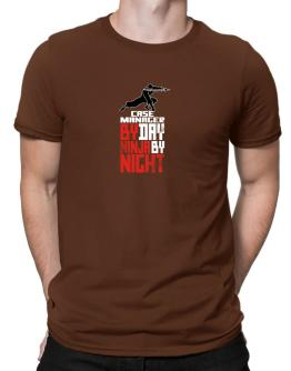 Case Manager by day ninja by night Men T-Shirt