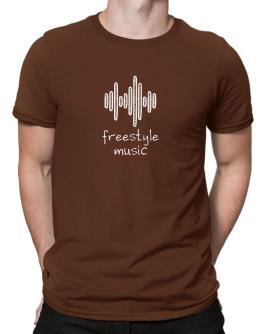Freestyle Music equalizer Men T-Shirt