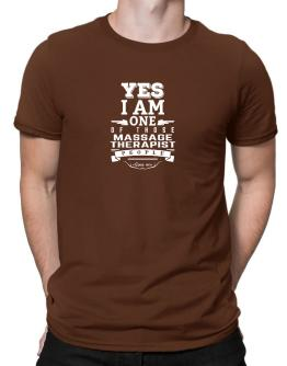 Playeras de Yes I am one of those Massage Therapist people