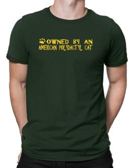 Owned By An American Polydactyl Men T-Shirt