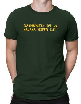 Owned By A Havana Brown Men T-Shirt