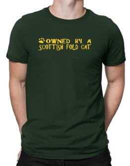 Owned By A Scottish Fold Men T-Shirt