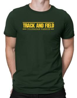 Track And Field Coloradan Passion Men T-Shirt