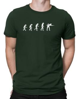 Evolution of a pool player Men T-Shirt