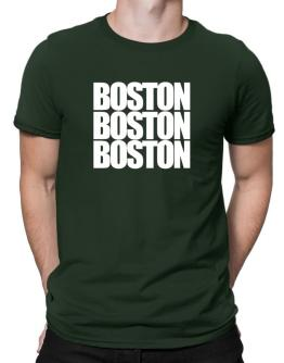 Boston three words Men T-Shirt