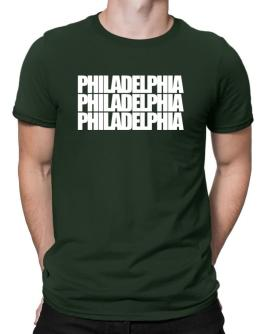 Playeras de Philadelphia three words