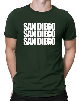 San Diego three words Men T-Shirt
