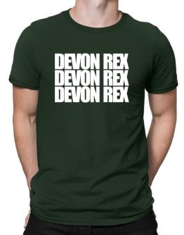 Devon Rex three words Men T-Shirt