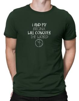 I and my Bronx will conquer the world Men T-Shirt