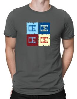 """ Backgammon - Pop art "" Men T-Shirt"