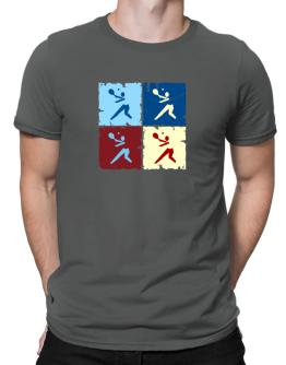 """ Pickleball - Pop art "" Men T-Shirt"