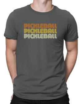 Pickleball Retro Color Men T-Shirt