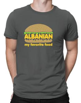 Albanian My Favorite Food Men T-Shirt
