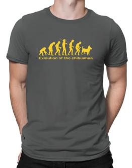 Evolution Of The Chihuahua Men T-Shirt