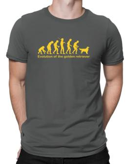 Evolution Of The Golden Retriever Men T-Shirt