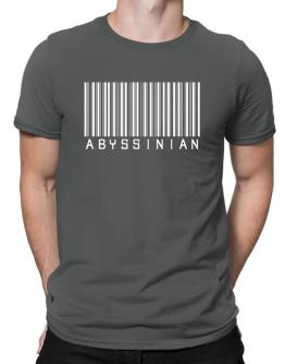 Abyssinian Barcode Men T-Shirt