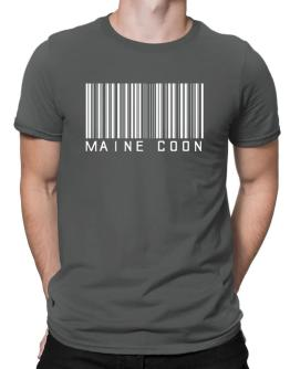 Maine Coon Barcode Men T-Shirt