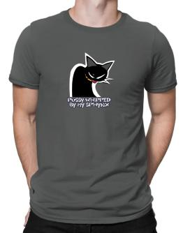 Pussy Whipped By My Sphynx Men T-Shirt