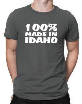 100% Made In Idaho Men T-Shirt