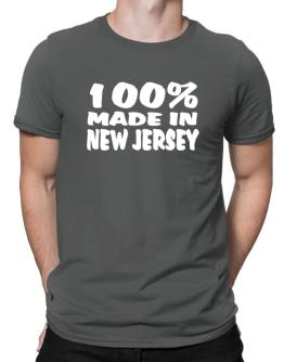100% Made In New Jersey Men T-Shirt