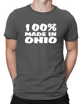 100% Made In Ohio Men T-Shirt