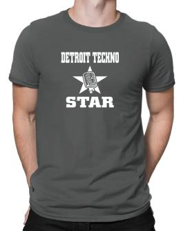 Detroit Techno Star - Microphone Men T-Shirt