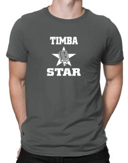 Timba Star - Microphone Men T-Shirt