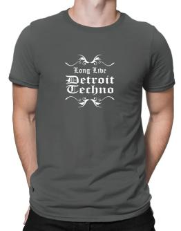 Long Live Detroit Techno Men T-Shirt