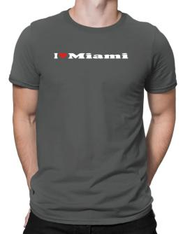 I Love Miami Men T-Shirt