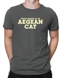 PROUD PARENT OF A Aegean Cat Men T-Shirt