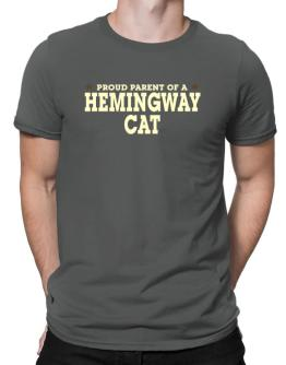 PROUD PARENT OF A Hemingway Cat Men T-Shirt