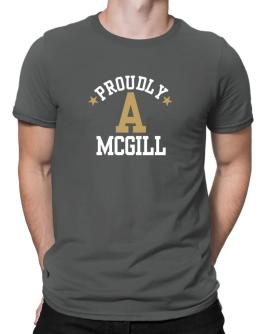 Proudly McGill Men T-Shirt