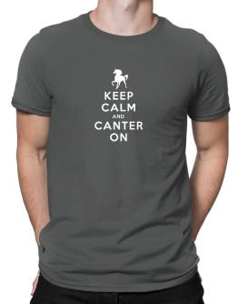 Polo de Keep calm and canter on