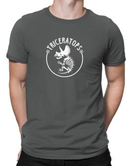 Triceratops Men T-Shirt