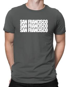 Playeras de San Francisco three words