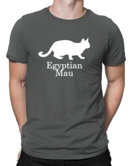Egyptian Mau silhouette Men T-Shirt