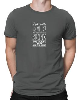 That bottle of Bronx was looking at me all the time 2 Men T-Shirt