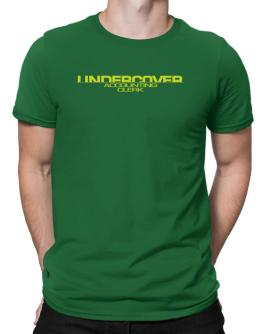Undercover Accounting Clerk Men T-Shirt