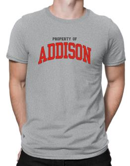 Property Of Addison Men T-Shirt