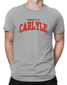 Property Of Carlyle Men T-Shirt
