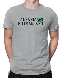 """ Kilimanjaro - Flag "" Men T-Shirt"